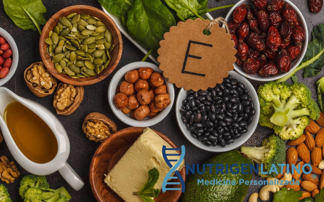Conoces el beneficio de la Vitamina E en nuestro cuerpo?